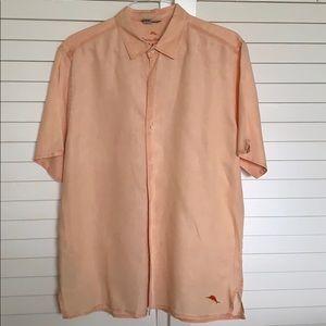 Tommy Bahama Men's short sleeve button down shirt